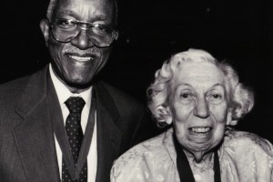 John Hope Franklin and Eudora Welty, Fellowship of Southern Writers, April 1991