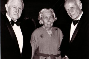C. Vann Woodward, Eudora Welty, and Walker Percy