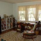 EW desk and bookcase